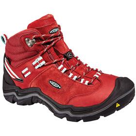Keen Wanderer Mid WP Shoes Damen chili pepper/gargoyle